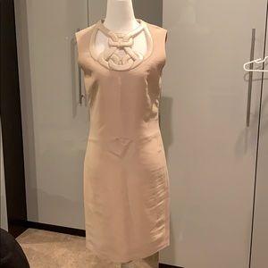 Bally natural tan dress